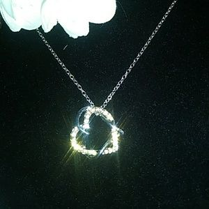 """Jewelry - Statement Piece """"Hugging Heart to Heart"""" Necklace"""